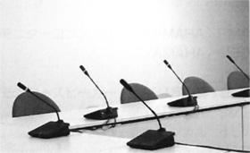デンマーク Danish Interpertation System 社製 会議用マイクロフォンシステム(100本)2000年国内初導入